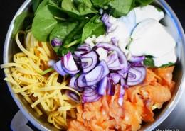recette de one pot pasta au saumon