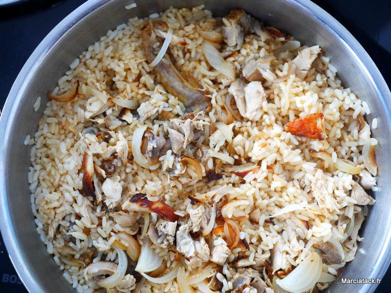 une recette pour utiliser les restes de poulet rôti