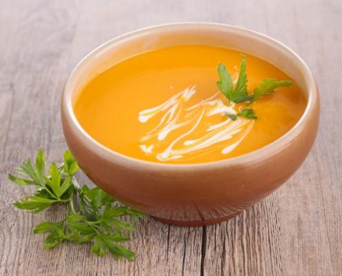 recette de soupe de potiron