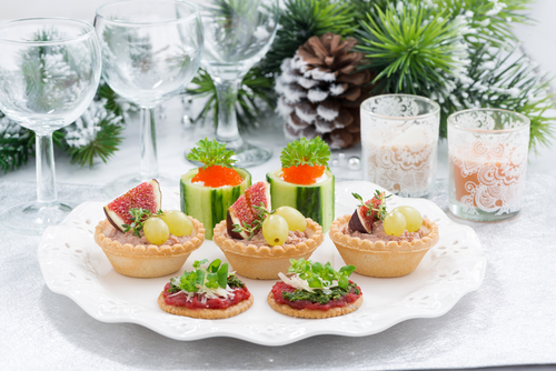 Ap ritifs de no l dossier recettes for Menus originaux faciles