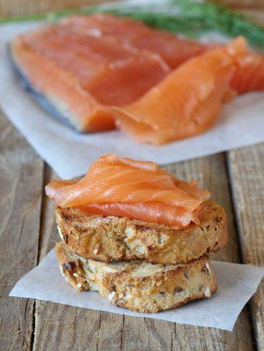 recette de saumon gravlax