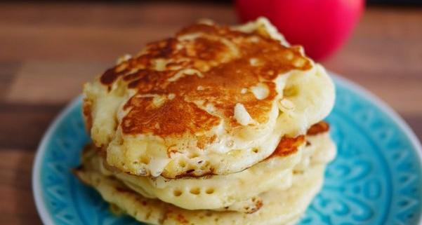 recette de pancake aux pommes