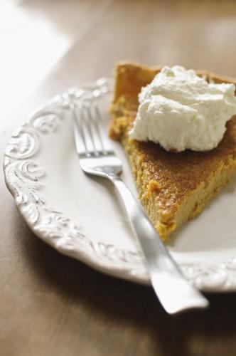 pumpkin pie : tarte au potiron