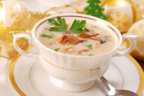 recettes de soupes de Noël