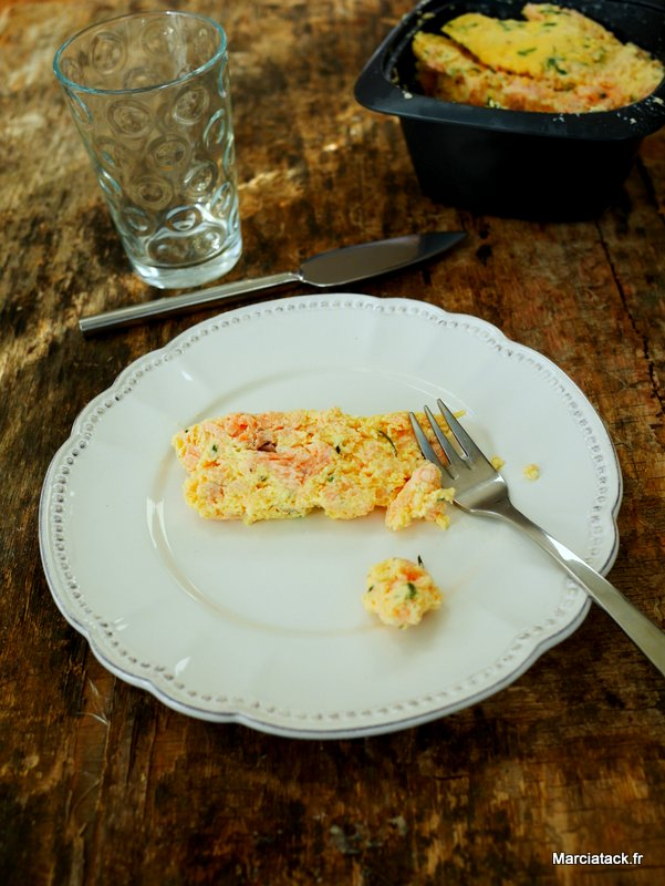 recette tupperware de terrine de saumon