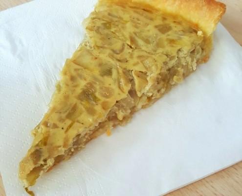 recette de la quiche aux endives braisées avec pâte sablée maison