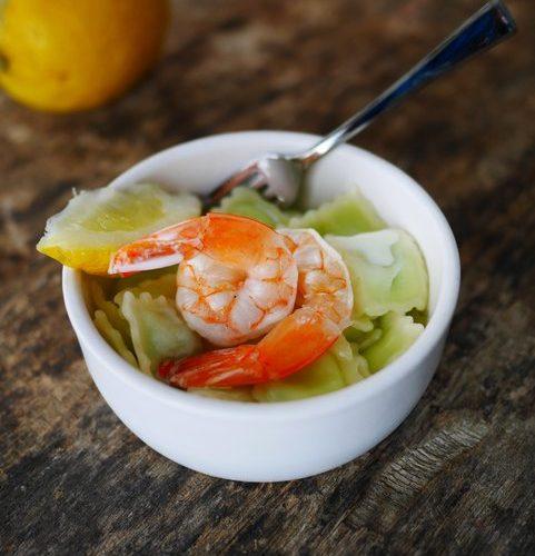 recette de ravioles à la crevette