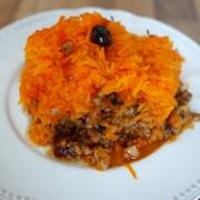 recette de gratin de potimarron et viande hachée
