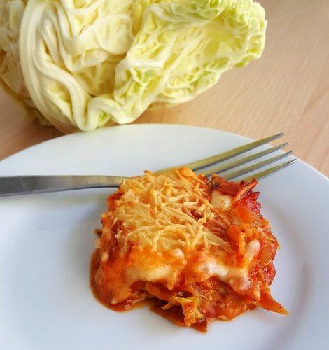 recette de lasagnes au chou vert