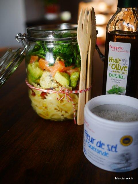 Recette de salade pique nique en bocal