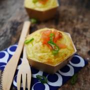 recette de purée soufflée au saumon