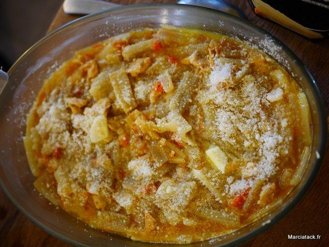 recette de gratinde blettes, façon provençal