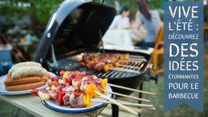 Recettes pour barbecue originales, végétariennes et astuces pour allumer le barbecue charbon