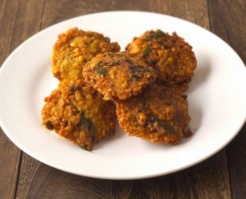 recette de beignets de pois chiches indiens
