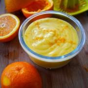 recette de l'orange curd