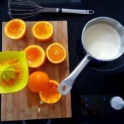 recette de l'orange curd en image