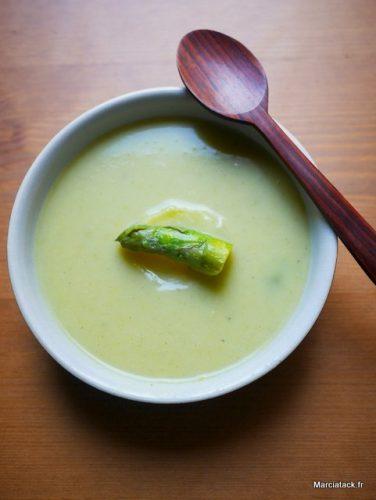 recette soupe d'asperges