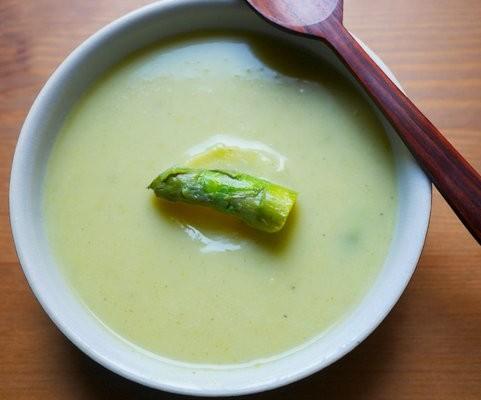 recette de soupe d'asperges, une soupe facile à faire