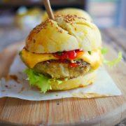 recette de burger aux légumes sans viande