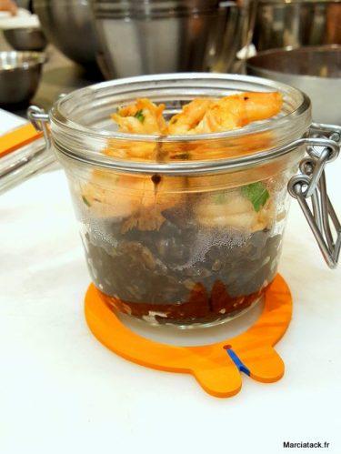 risotto encre de seiche