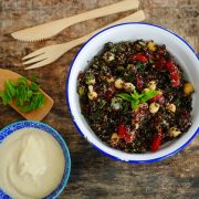 salade de quinoa noir