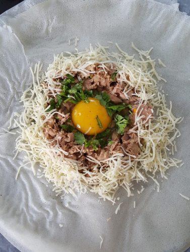 recette de brick à l'oeuf et au thon