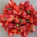 recette des fraises au basilic