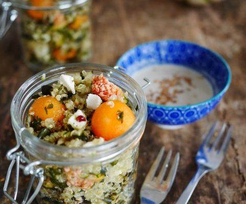 salade quinoa au melon