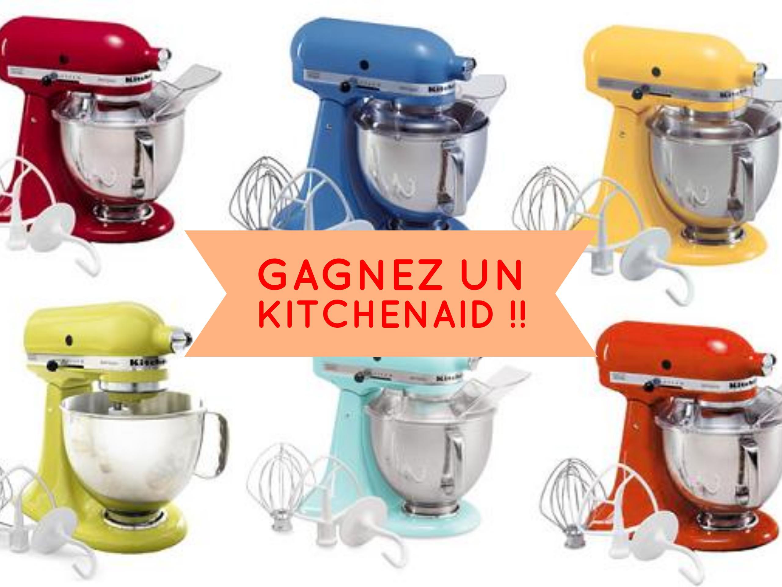 Un kitchenaid pour votre cuisine | Concours