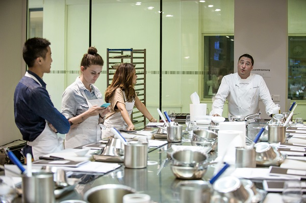 La Samsung culinary Class de l'école Ferrandi