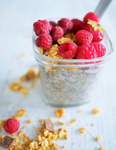 petit déjeuner vitaminé et sain