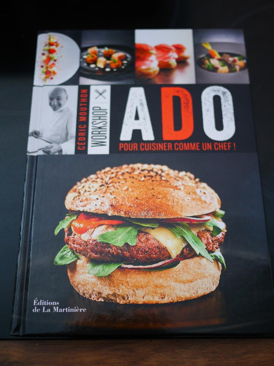 workshop ado c dric mouthon livre de cuisine