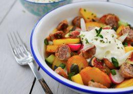 salade saucisse pommes de terre