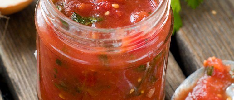 sauce tomate type ratatouille