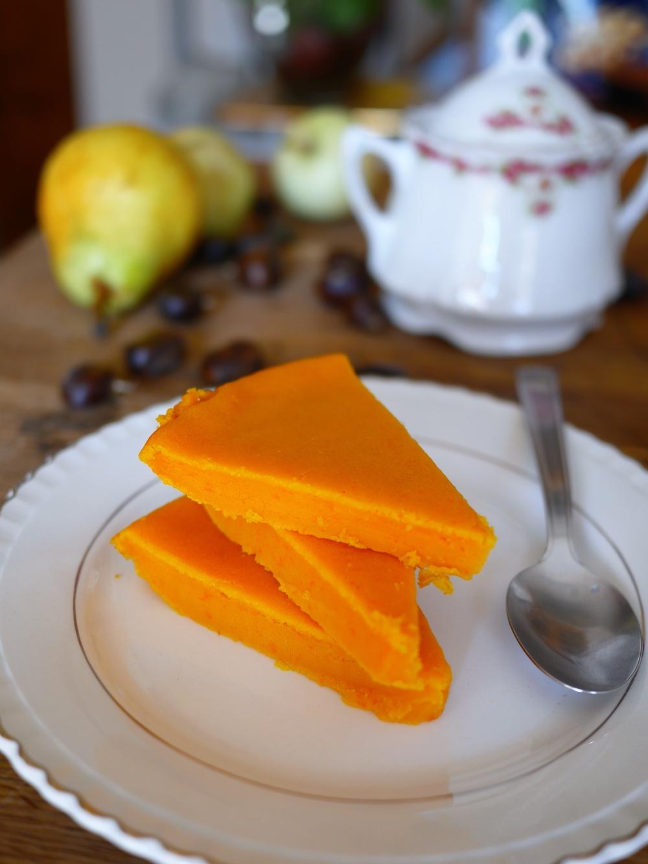 Flan de courge sucr recettes de cuisine - Comment cuisiner une courge butternut ...
