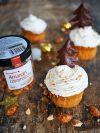 des muffins aux épices de noel et aux amandes caramélisées