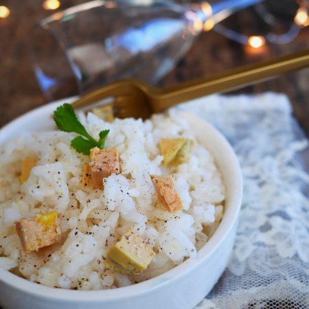 recette facile du risotto au foie gras, avec du foie gras en blog