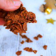 rose des sables au chocolat, la recette des cornflakes enrobés de chcocolat à faire avec les enfants