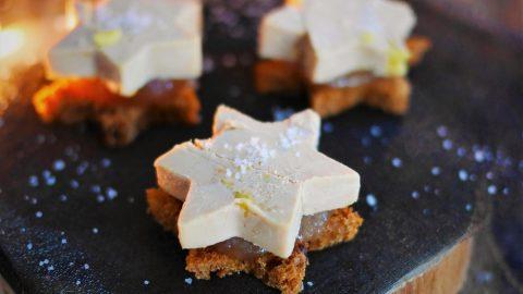 toast de foie gras étoilé