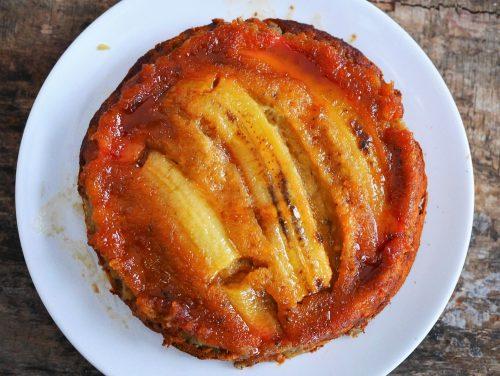 le meilleur gâteau à la banane trop mure et caramel
