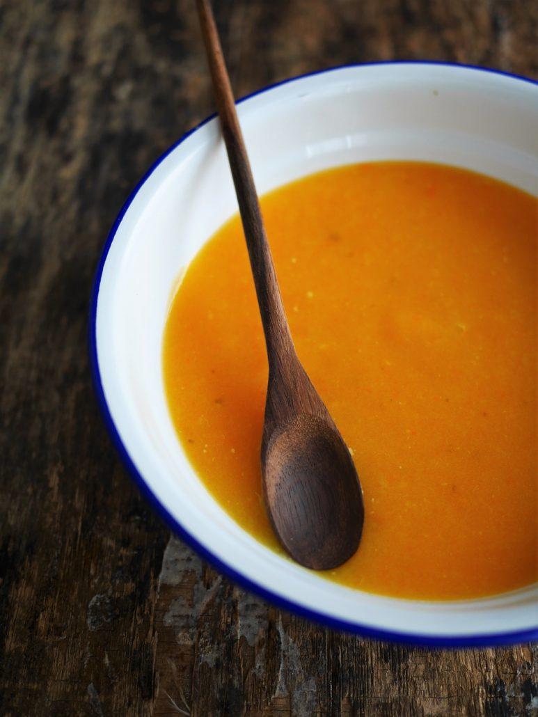 soupe de carottes toute simple