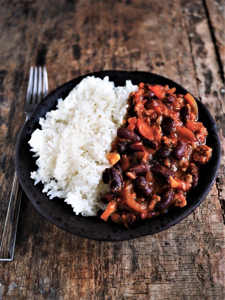 recette chili con carne rapide