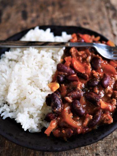 chili corn carne rapide