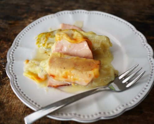 recette d'endives au jambon