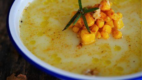 soupe de mais