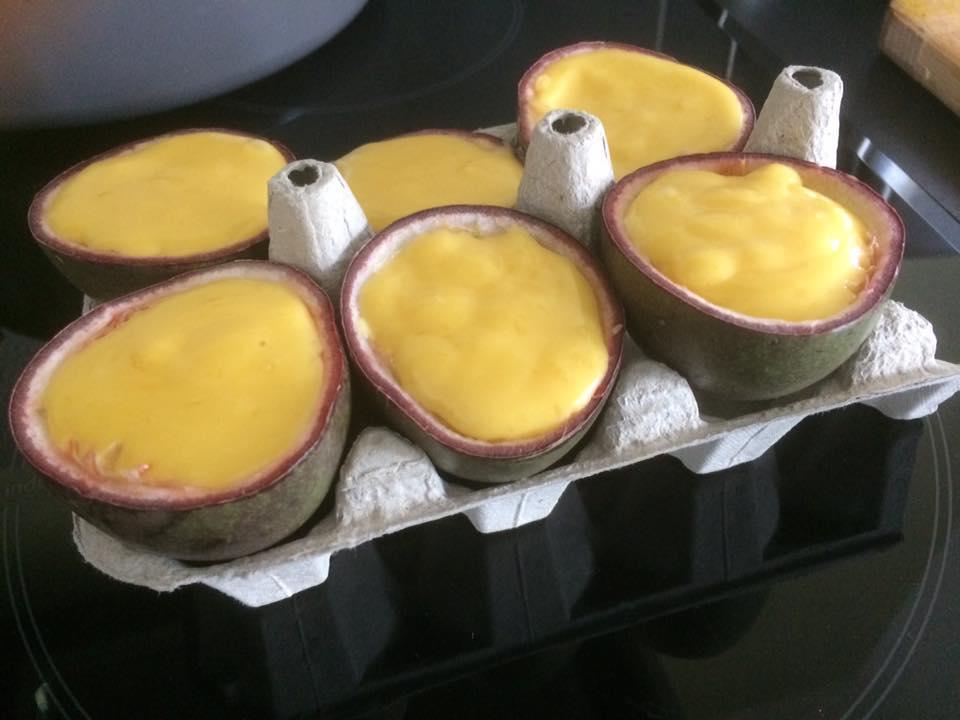 Crème brûlée exotique