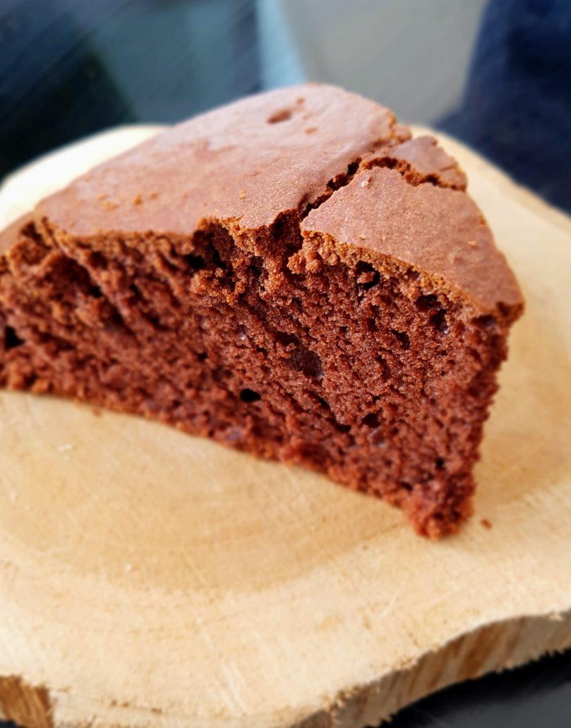 Gâteau chocolat sans oeuf et sans lait