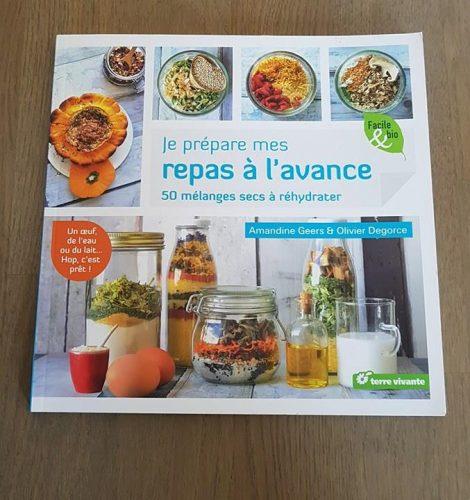 Je prépare mes repas à l'avance - Amandine Geers & Olivier Degorce