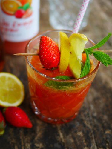 mojito fraises sas alcool