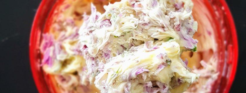 beurre fleur ciboulette